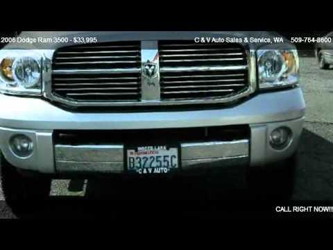 2006 Dodge Ram 3500 MEGA CAB 160.5 SRW SLT - for sale in Moses Lake, WA 98837