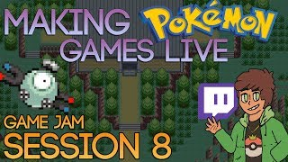 Making Pokemon Games Live (Game Jam Session 8)
