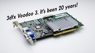 3dfx Voodoo 3 is now 20 years old!