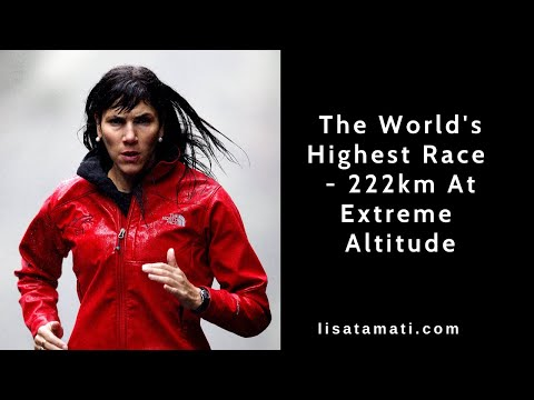 The worlds' highest running race - 222km at altitude, non stop in the Himalayas