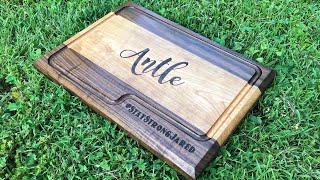 Making a custom cutting board