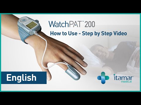 Home sleep test with the new WatchPAT™ Unified