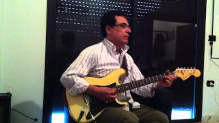 "Abdul Halim Hafez ""Bahlam beek"" (بحلم بيك ) - by Ahmad Chaaban on Electric Guitar"