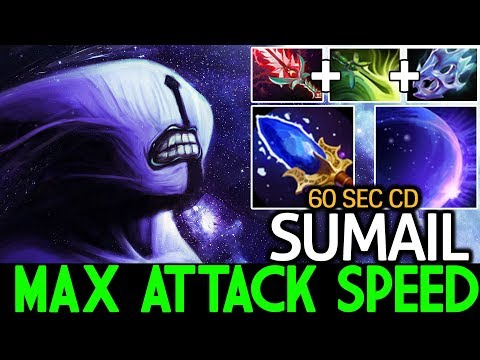 SumaiL [Faceless Void] One Chrono Kill Max Attack Speed Build 7.21 Dota 2 thumbnail