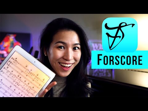 How I Use My IPad For Sheet Music With ForScore