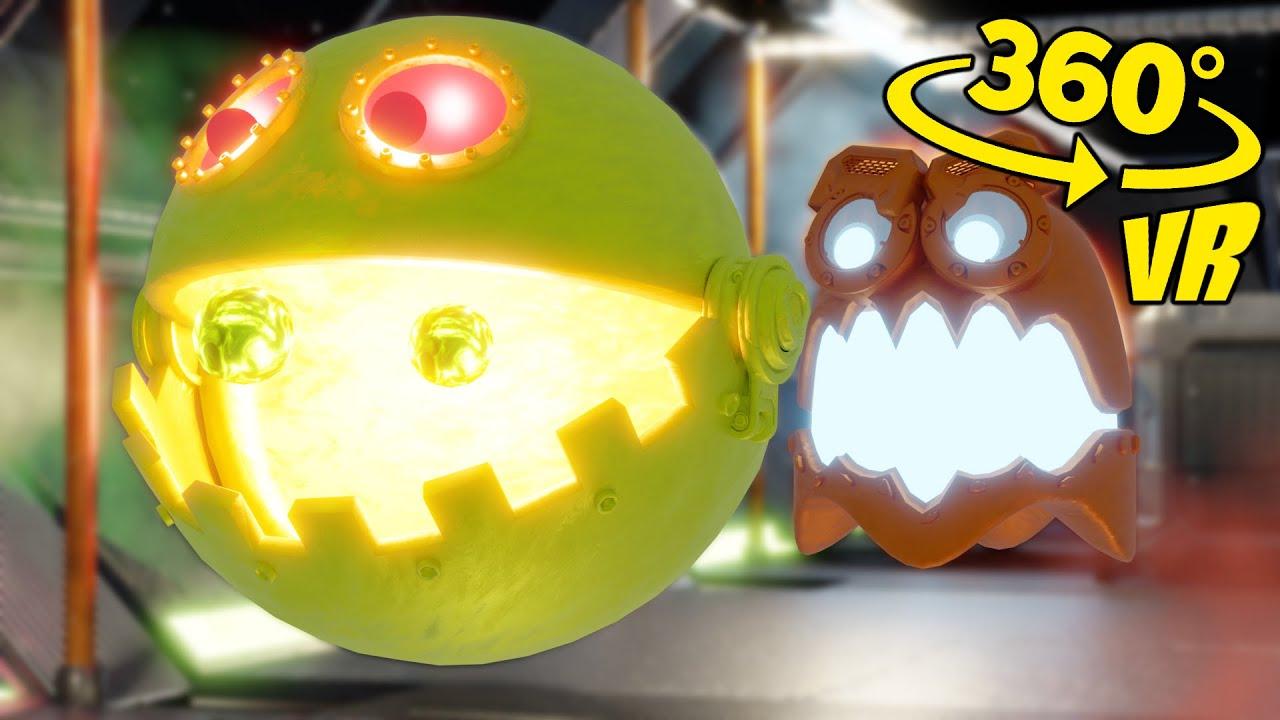 Pac-Man VR/360° Video