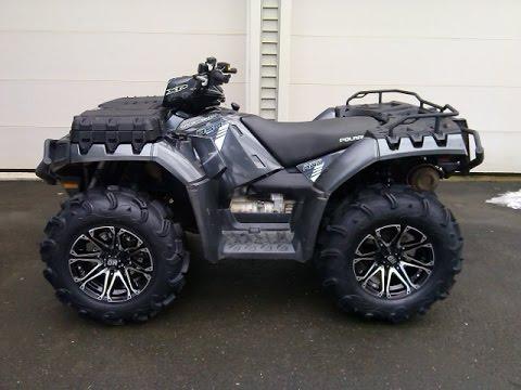 2014 Sportsman 850 Xp Ho Eps New Sti Wheels And Zilla S