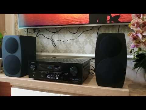 Bộ nghe nhạc mini Denon AVR X1500H ghép loa Jamo C93 cho Chung Cư