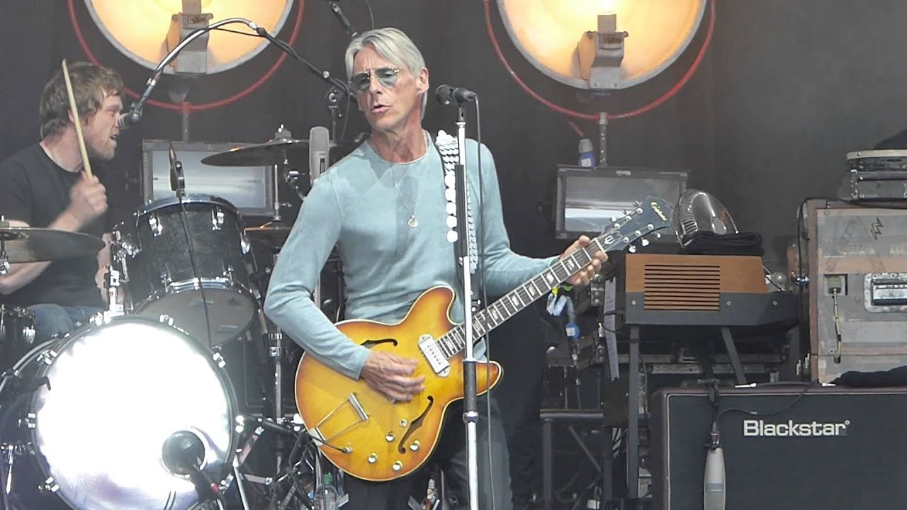 Image result for paul weller live at glastonbury