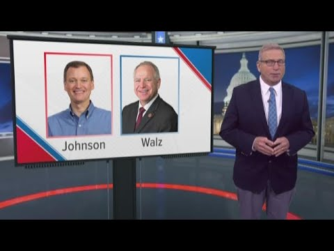 Walz and Johnson vie for governor's office