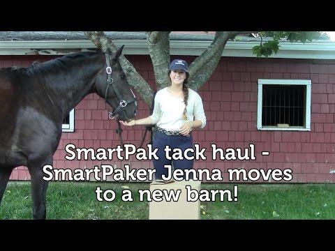 SmartPak Tack Haul - SmartPaker Jenna moves to a new barn!