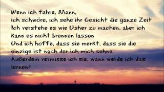 lyrics in Deutsch - Just A Dream - Sam Tsui & Christina Grimmie