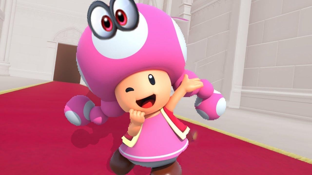 Toadette in Super Mario Odyssey - Final Boss & Ending ...