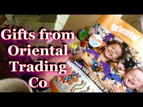 ASMR Gift Unboxing from Oriental Trading Co, Relaxing gentle whispering