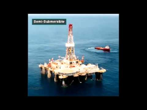 Tsk Presents Schlumberger Drilling Course Types Of Oil Land  Offshore Rigs