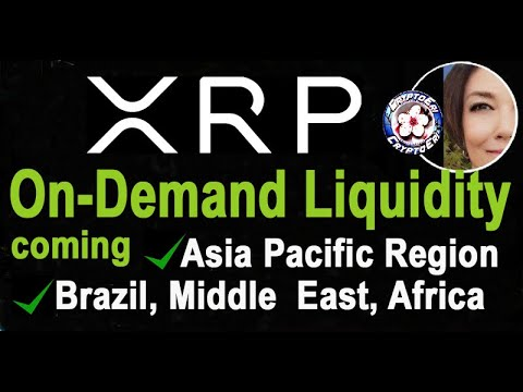 Ripple XRP ODL planned opening Asia Europe Middle East & Africa, Remittance 2020 Forecast 100B Down