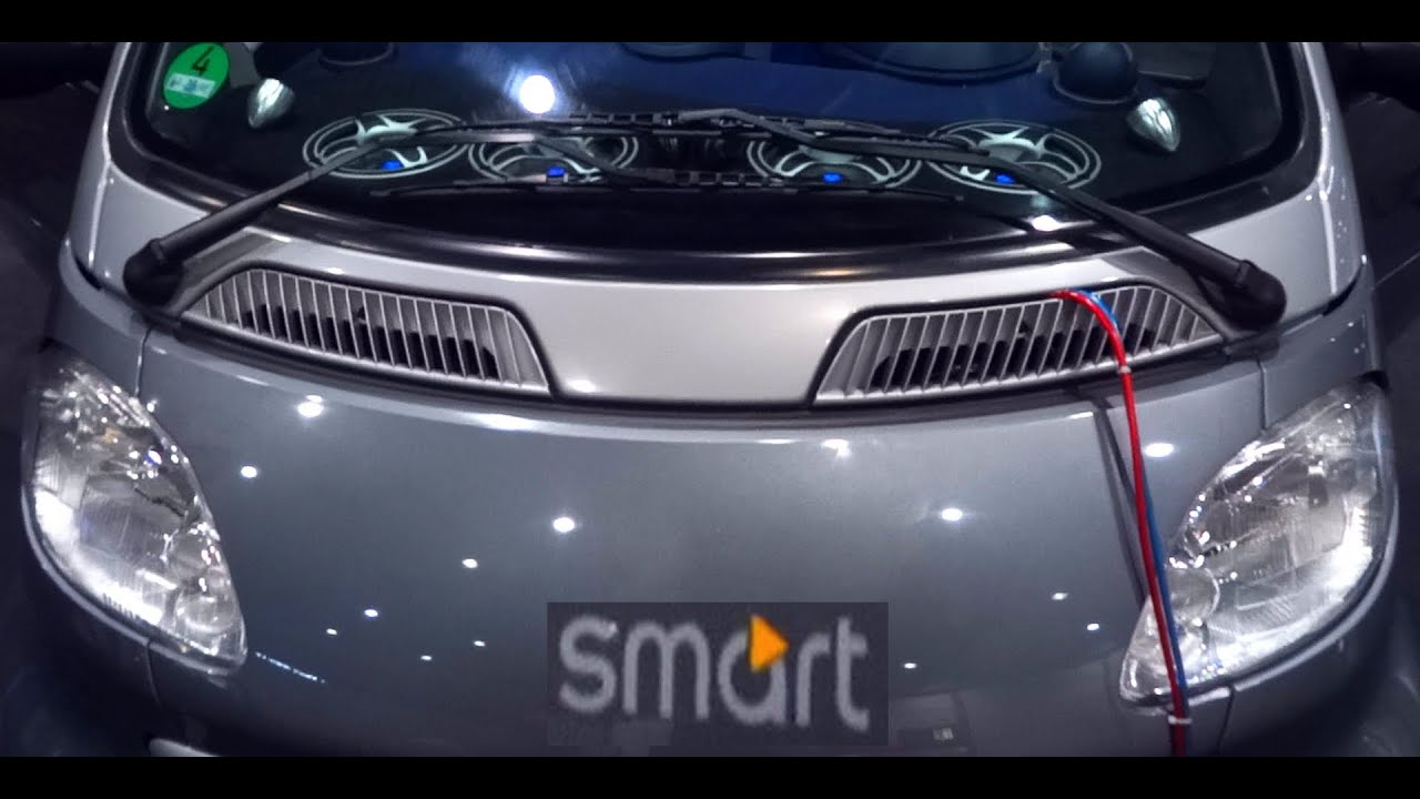 Smart fortwo Hifonics Soundmachine HiFi