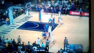 Indiana Pacers Vs OKC Thunder (Very short video)
