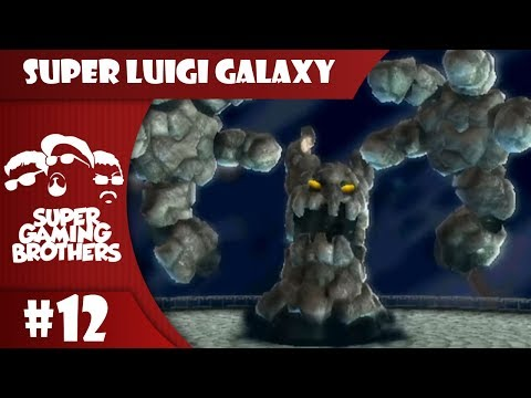 SGB Play: Super Luigi Galaxy - Part 12 | On A Roll, Or the Boulder