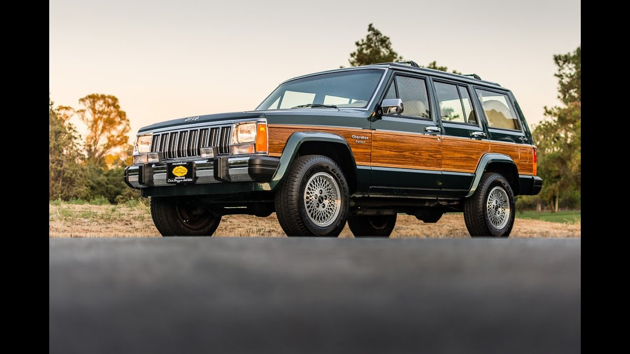 Jeep Wagoneer For Sale >> 1992 Jeep Cherokee Briarwood 4x4 - 16k Miles - YouTube