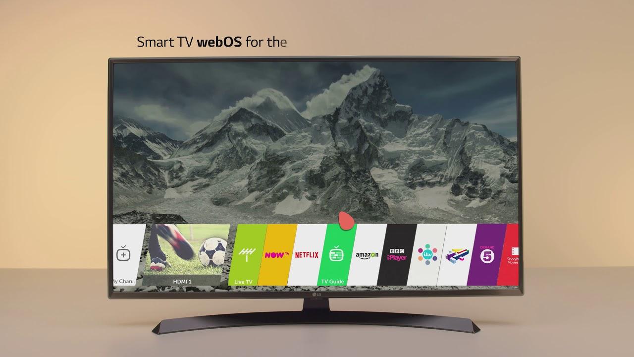 Zupełnie nowe LG UJ670V ULTRA HD 4K TV - YouTube OY49