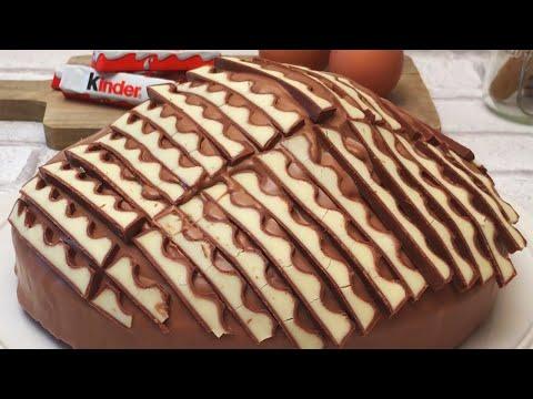 un-dessert-zébré-au-kinder-!-|-5-recettes-de-gâteau-avec-cuisson-façon-chefclub