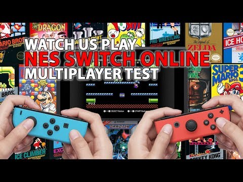 NES Switch Online Multiplayer Gameplay - Watch Mike and Jeff Engage Low Latency Mode