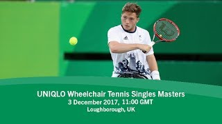2017 NEC Wheelchair Tennis Singles Masters | Day 5