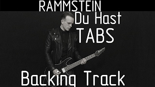 Video Rammstein Du Hast cover (tabs, backing track and lyrics) download MP3, 3GP, MP4, WEBM, AVI, FLV Juli 2018