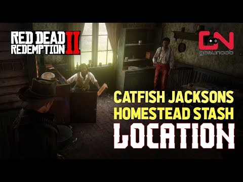 Red Dead Redemption 2 - Catfish Jackson Homestead Stash Location