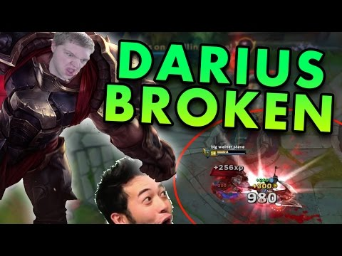 THE MOST BROKEN TOP LANER RIGHT NOW? ALMOST UNKILLABLE DARIUS TOP - League of Legends Commentary