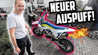 NEUER AUSPUFF FÜR DIE 701er!