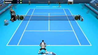 "Tennis simulator PC ""Full Ace"" 1st release - HD test"