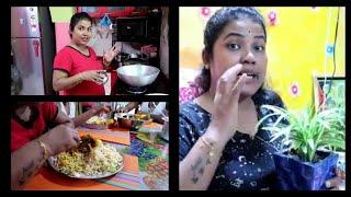 Bengali Vlog # আমার রান্না আপনাদের সাথে মিলবে না || রবিবারের Hair care