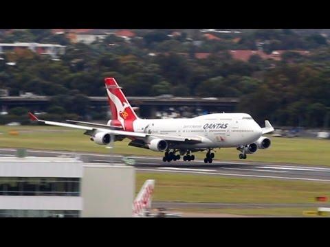 Sydney Airport: Crosswind Runway 25 Arrivals