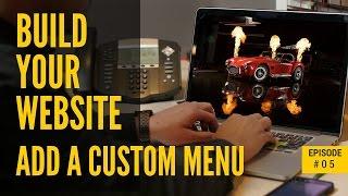 WordPress özel menü eklemek için nasıl. [ BB #05 ]Wordpress web sitesi öğretici