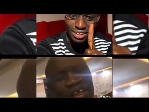 "Quand adamo m€nace gaston Mbengue ""mangui khar banga teguate fi lac 2 dinga..."