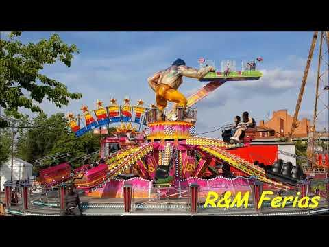 Atracciones de la Pradera de San Isidro de Madrid 2018-R&M Ferias.