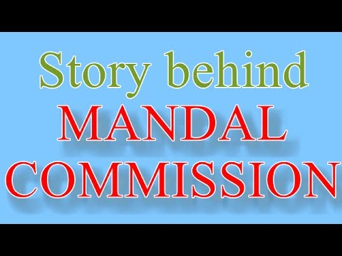 Must Watch : Story Behind Mandal Commission