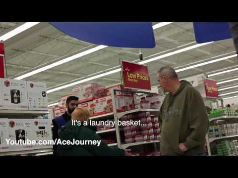 DRUNK/BAD WALMART EMPLOYEE- PRANK - Part 1