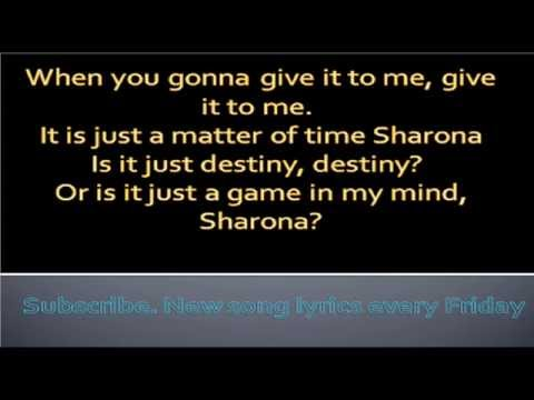 My sharonaThe KnackLyrics