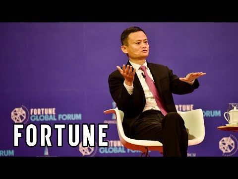 Jack Ma: 'When Trade Stops, Peace Stops' I Fortune