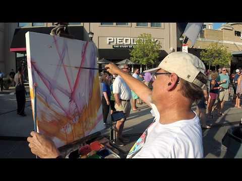Daily Art Adventure 443. Painting A Beach Music Concert.