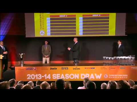 2013-14 Turkish Airlines Euroleague Draw