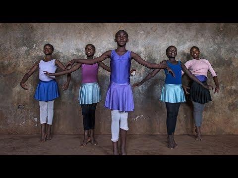 Kibera slums children keen on ballet dance kiberaballe - Impala club nairobi swimming pool ...
