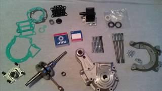 pièces moteur du moto