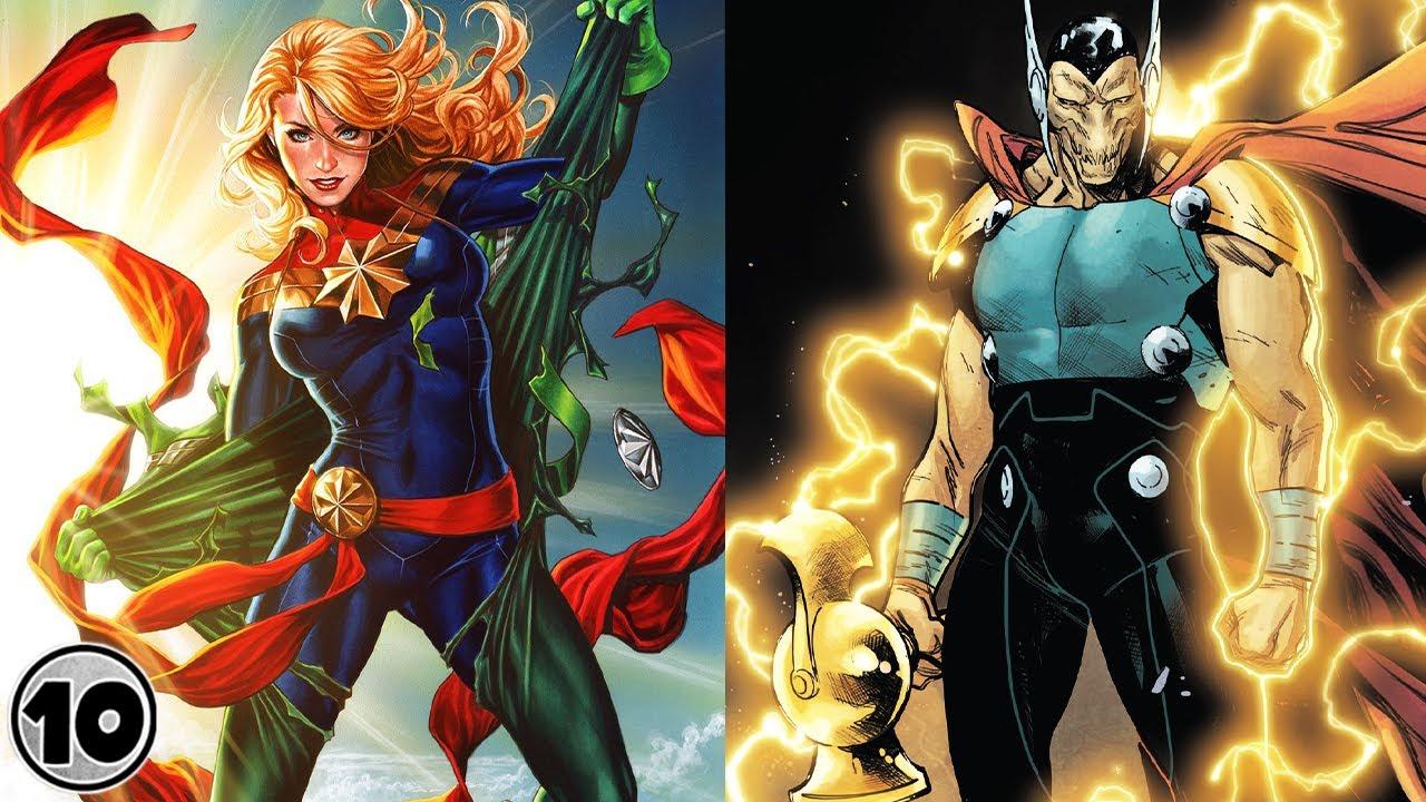 Top 10 Most Powerful Cosmic Marvel Superheroes