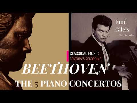 Beethoven - Piano Concertos No.1,2,3,4,5 'Live Recordings' +