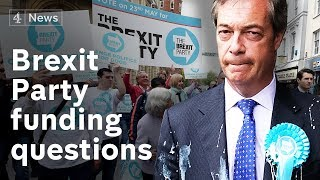 Electoral Commission reviewing Brexit Party funding