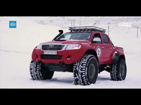 Nokian Tyres presents: Nokian Hakkapelitta 44 tailored for Arctic Trucks
